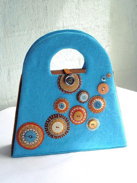 Вязаные сумки крючком и на спицах - коллекция идей на