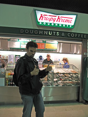 Krispy Kreme at Waterloo Station