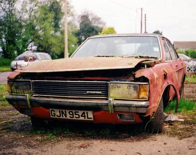 1973 Ford Granada GXL.