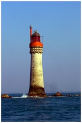 San Malo Red Lighhouse