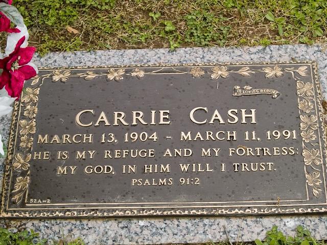 Johnny Cash's Grave