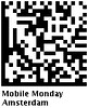 Mobile Monday Amsterdam DataMatrix Code