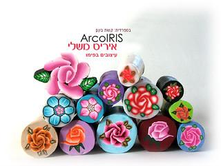 Millefiori Flowers & Roses Canes