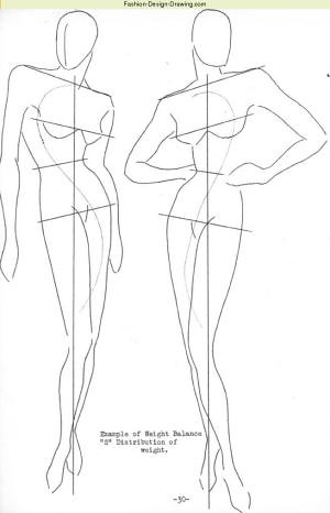 Fashion Croquis Templates moreover 593 also ponents further Fashion Design Croquis Template also How To Draw Anime Body With Tutorial For Drawing Male Manga Bodies. on models front and back