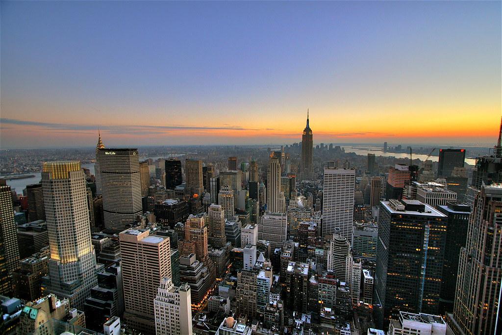 New york city sunset wallpaper new york city sunset background