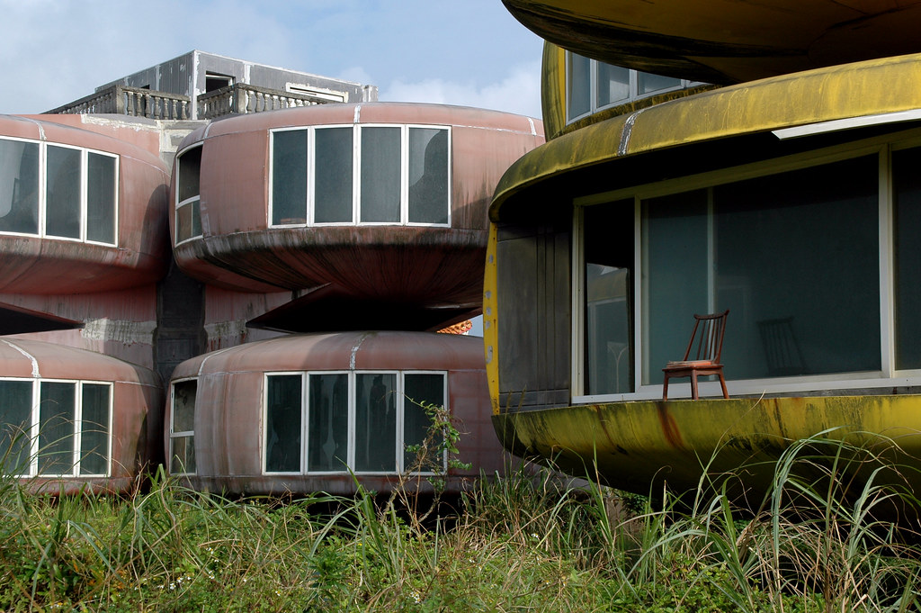 Abandoned housing project, Taipei