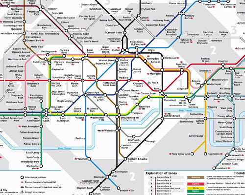 My Annotated Map Of London Underground Flickr Photo Sharing
