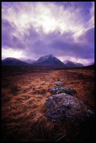 Glen Etive Boulders- Wide version