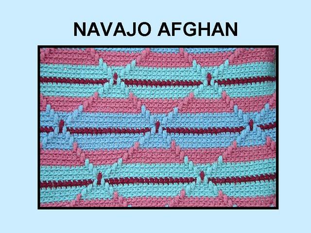 Crochet Navajo Stitch : NAVAJO CROCHET PATTERN