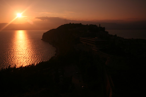 Sunset in Nafplio