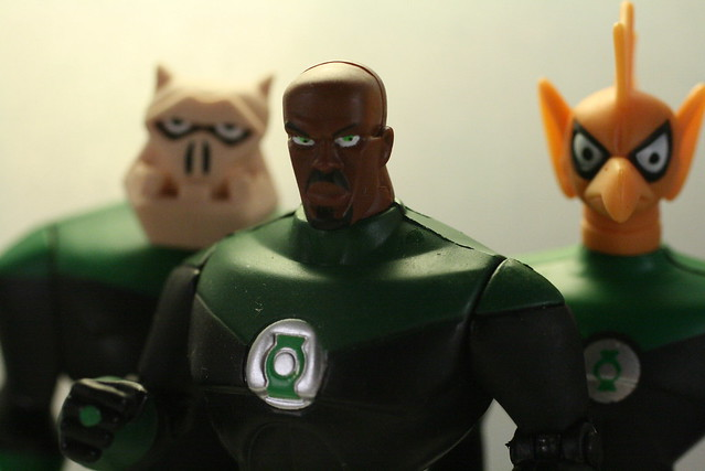 Green Lantern has a, Canon EOS DIGITAL REBEL XTI, Canon EF 50mm f/2.5 Macro