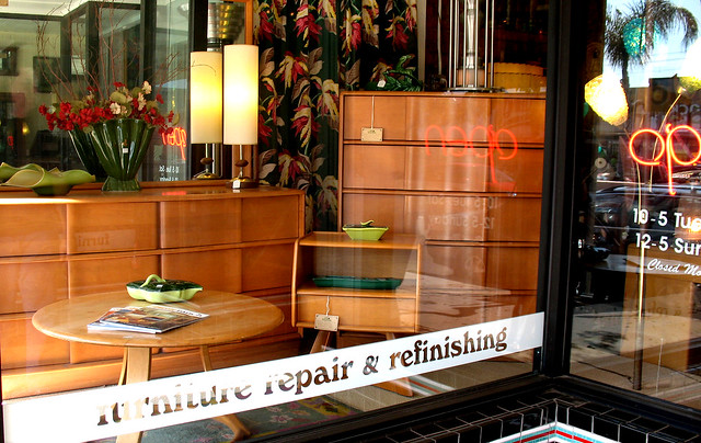 Mid Century Furniture Store Front Flickr Photo Sharing
