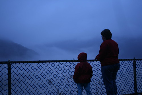blue fog dam together motherandchild kinzua whataview
