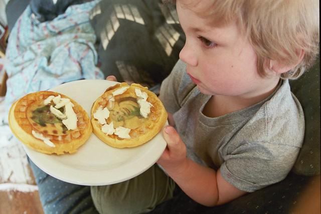 Everett And Shrek Waffles Wtf Flickr Photo Sharing