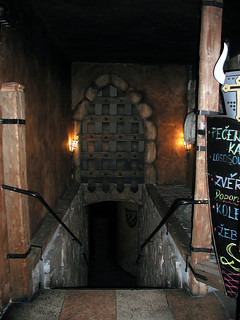 Entrance to the dungeon.