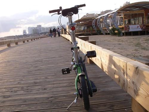 De Mobiky na Praia da Rocha, em Portimão