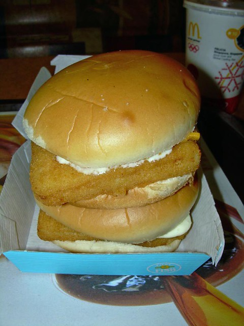 Double filet o fish flickr photo sharing for Mcdonalds fish fillet price