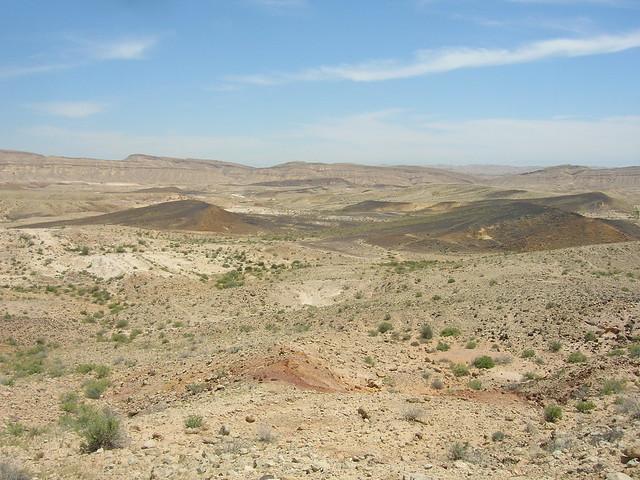 Geology, Large Makhtesh Crater, Negev Desert, Israel