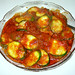zucchini sauteed in olive oil, sea salt,garlic, tomato sauce, olives