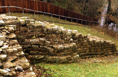 The wing wall of Milecastle 48