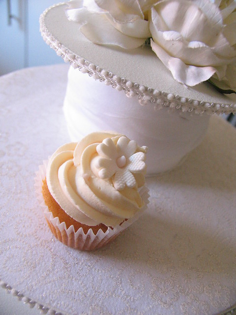 wedding cupcake sample for a