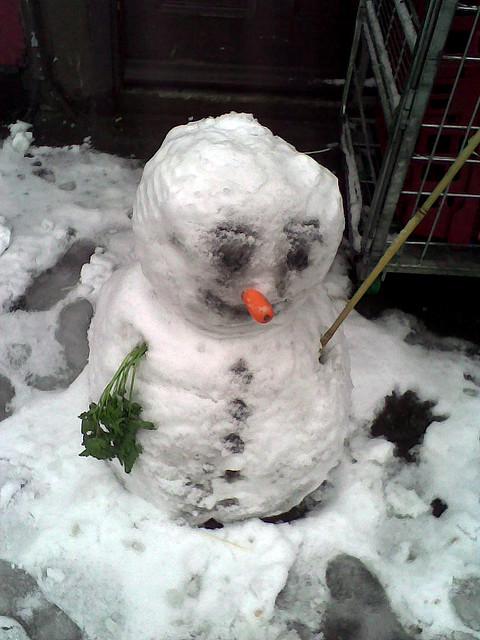 Small snowman, Church Street