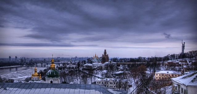 Deep Winter in Kiev