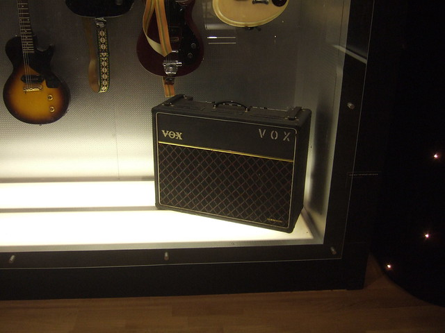 Photo:Vox amp By wetwebwork