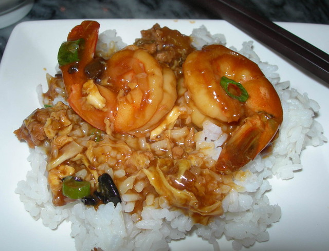 Shrimp with Lobster Sauce | Flickr - Photo Sharing!