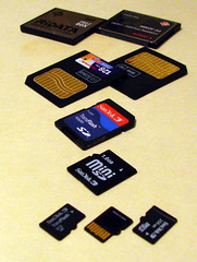 My Flash Memory Card Collection