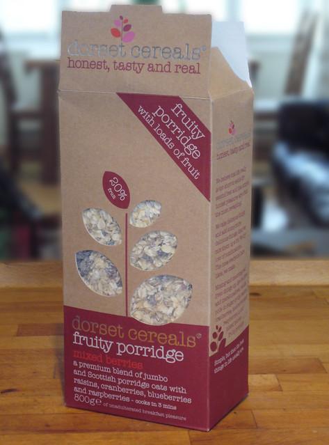 Dorset cereals packaging