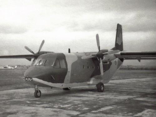 Mi primera foto de un C-212
