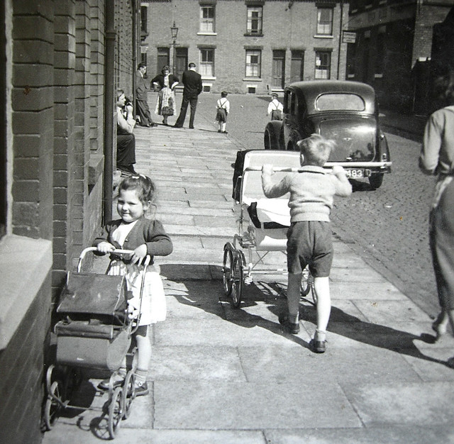 When kids played on the street Brixton Road Radford Nottingham