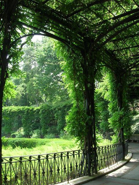 Pergola Conservatory Garden Central Park Flickr