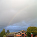 Small photo of Rainbow above Eagle Aerie Gallery