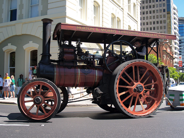 St Patrick's Day Brisbane - Steam Tractor by Cyron Ray Macey, on Flickr