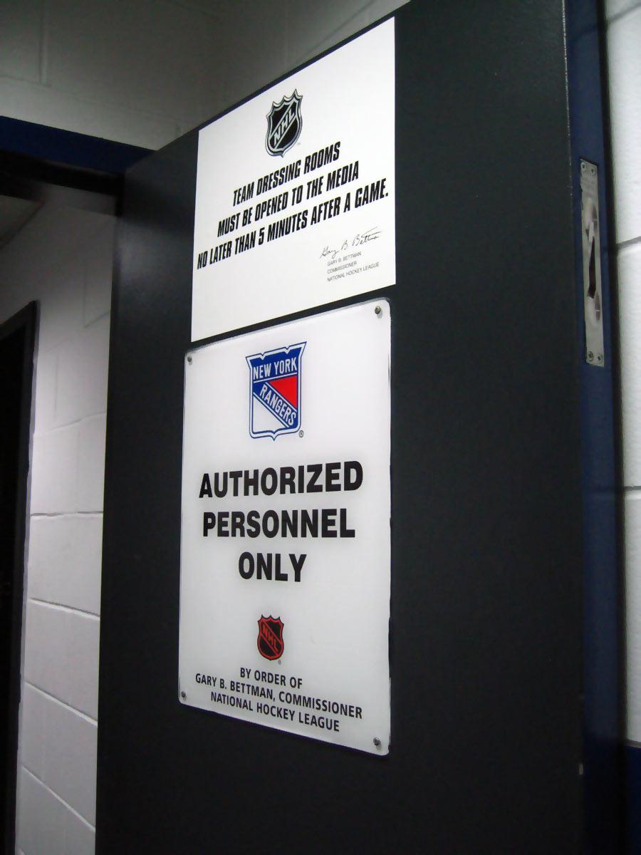 Nhl Locker Room To Ice
