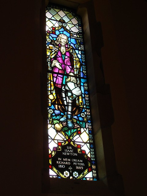 Sir Isaac Newton, All Saints Chapel, Sewanee TN