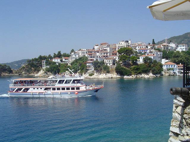 Scenic Skiathos by flickr user kdask