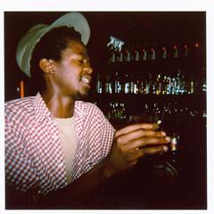 Solé at the bar