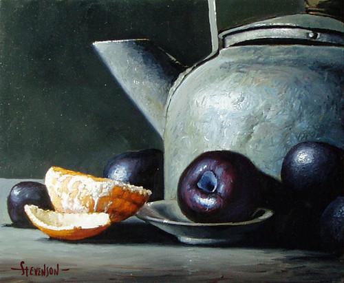 Image result for tea kettle still life