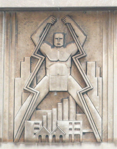 Bas Relief of a POWERful dude