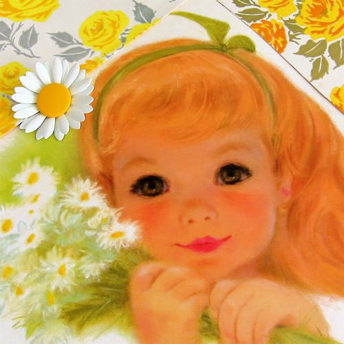 Vintage Daisy Girl