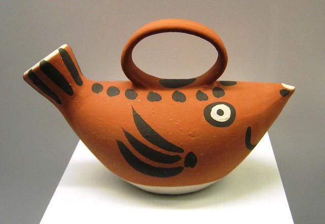 Picasso ceramic fish