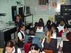 Verificando los trabajos de los estudiantes