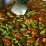 Shrimp and Long Beans Curry - Krabi, Thailand