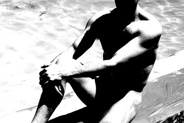 shadows poolside