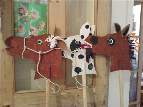 Hobby horses and hobby moose from Crawle