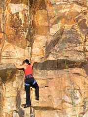 free solo climbing(0.0), bouldering(0.0), adventure(1.0), individual sports(1.0), sports(1.0), recreation(1.0), outdoor recreation(1.0), rock climbing(1.0), sport climbing(1.0), extreme sport(1.0), climbing(1.0), rock(1.0),