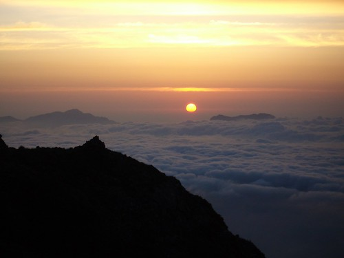 cloud sun mountain japan sunrise dawn hakuba nagano happo cloudsea karamatsu 八方尾根